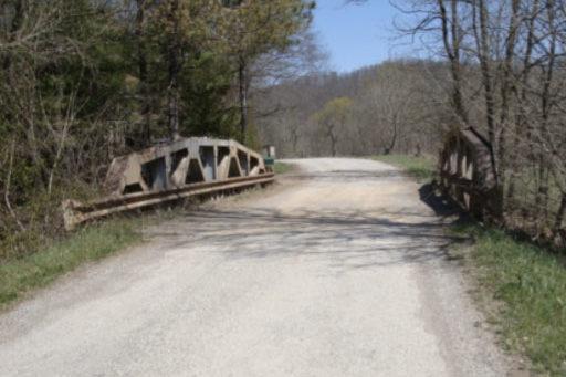 CR 45 Bridge Near Shade